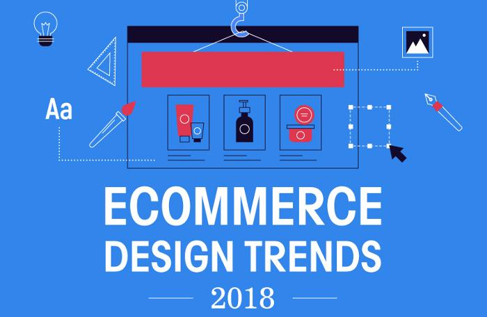 Oblikovalski trendi e-trgovin v letu 2018