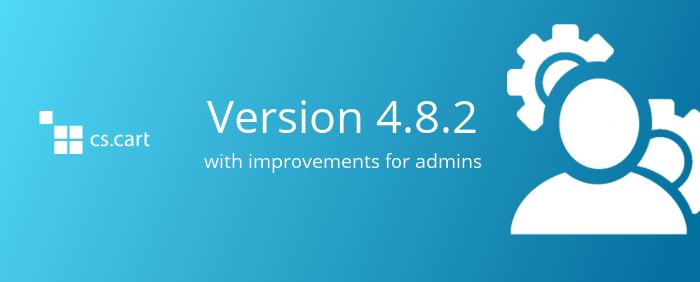 Spoznajte različico 4.8.2 z izboljšavami za skrbnike